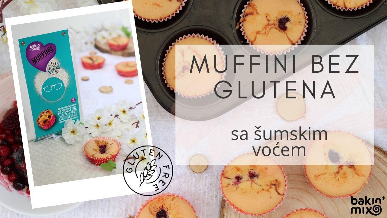 GLUTEN FREE Muffini sa šumskim voćem
