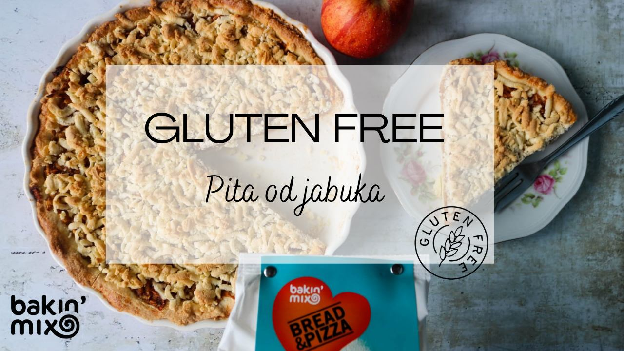 GLUTEN FREE Pita od jabuka